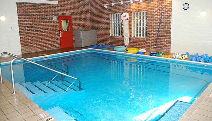 Indoor Therapy Pool at our Hermitage Location